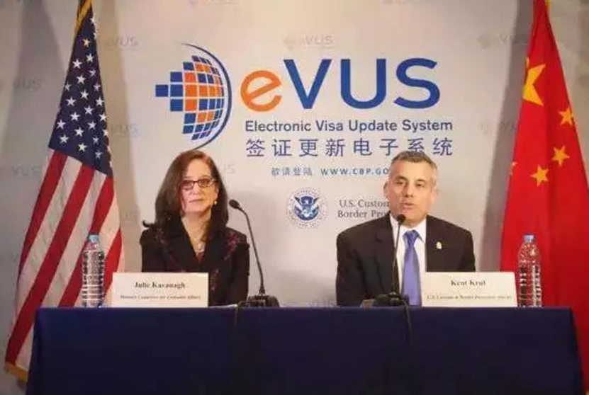 EVUS系统上线了:不登记不准入境美国!