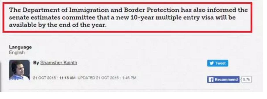 网传澳洲十年签证真的要来啦?!